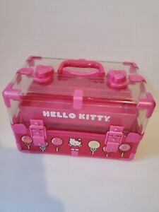 Sanrio Hello Kitty Trinket Case Jewelry Box 2012
