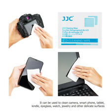 """JJC 110PCS 6.0x4.7"""" Moist Cleaning Wipes Tissues for Camera Screen Lens Computer"""