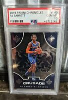 2019 Panini Chronicles CRUSADE RJ Barrett Rookie #540 PSA 10 Gem Mint RC