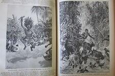 JOURNAL DES VOYAGES N° 666 de 1890  AFRIQUE STANLEY SORCIER MARIAGE POLOGNE
