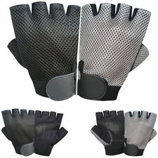 Unisex Adults Mesh Cycling Gloves