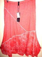 Mid-Calf Polyester Asymmetrical Skirts for Women