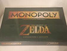 Monopoly zelda Nintendo Collector Édition Neuf Scellé English New
