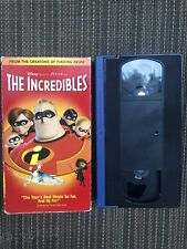 The Incredibles (Vhs, 2005, Vhs)