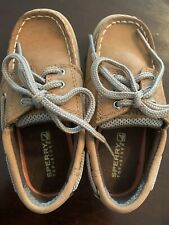 Sperry Top-Sider Billfish Toddler Boy Shoes 9M Excellent Condition
