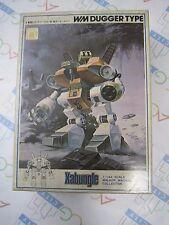 Combat Mecha Xabungle Walker Machine 1/144 WM Dugger Type Model Kit Old Bandai