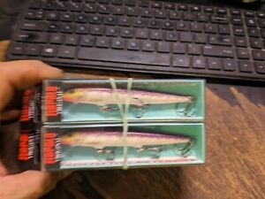 """RAPALA 4 3/8"""" Original Floating F11 PD in PURPLEDESCENT for Bass/Walleye/Perch"""