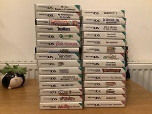 29 x Nintendo DS Games Job Lot -