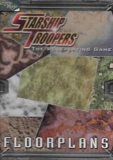 STARSHIP TROOPERS RPG - Floorplans MINT *RPG*