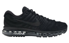 Nike Air Max 2017 Men's Size 7.5 Athletic Running Shoes Triple Black 849559-004