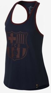 NIKE Barcelona FC Women's Training Tank Top/Vest Racerback Gym M 848168-410