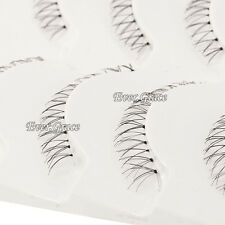 5 Pairs Natural Under False Eye Lashes Bottom Lower Eyelashes Handmade Fake Lash