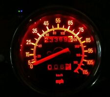 Yamaha Virago rojo 535 LED Dash Kit de conversión de Reloj lightenupgrade