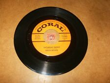 TERESA BREWER - SATURDAY DANCE - I THINK THE    / LISTEN - VOCAL JAZZ  POPCORN