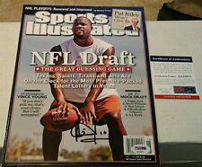 Vince Young Signed  Sports Illustrated Magazine PSA DNA Authenticated