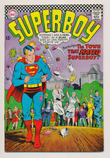 """SUPERBOY #139 F, """"The Town that Hated Superboy!"""" Superman, DC Comics 1967"""