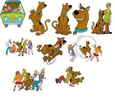 10 SCOOBY DOO WALL STICKER wall decal 3 SIZES VINYL / PHOTOPAPER