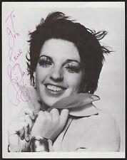"LIZA MINELLI Signed 8 x 10 Photo Autograph PSA/DNA Review MSN COA AUTO ""To Ira"""