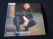 JOHN TRUDELL Indian Summer Sky 2XCD RARE! FROG SPOKEN WORD FOLK
