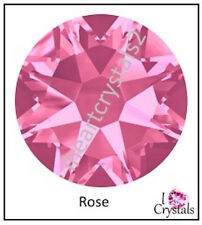 ROSE Pink Swarovski 40ss 8.5mm Crystal Flatback NEW 2088 Rhinestones 12 pieces