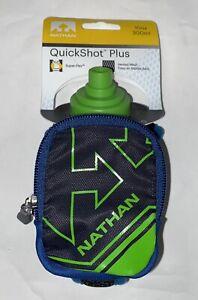 Nathan Quick Shot Plus Grip-Free Handheld Hydration Pack Water Bottle 10 Oz