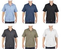 Wholesale DICKIES Mens Short Sleeve Work Shirt CLASSIC Workwear Uniform BULK Lot