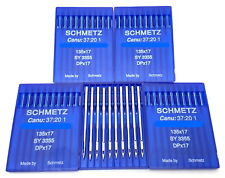 50 SCHMETZ 135X17 #21 SEWING MACHINE NEEDLES fits SAILRITE BIG-N-TALL