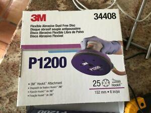 3M™ 34408 Hookit™ Flexible Abrasive Discs P1200X18 discs +P800x11 discs 29 tota