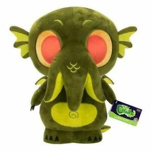"""THE REAL CTHULHU FUNKO SUPER CUTE COLLECTIBLE PLUSH GREEN VAULTED NWT 12"""" 2017"""