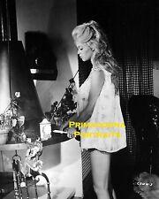 BRIGITTE BARDOT 8x10 Lab Photo SEXY BUSTY Bedroom Boudoir Nightgown Leggy Blonde