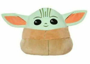 "NWT 20"" XL Star Wars The Child baby Yoda Squishmallows Mandalorian Plush"