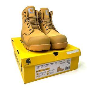 Carhartt Mens 6 Inch Rugged Flex Waterproof Work Boot CMF6356 Composite Toe 14W