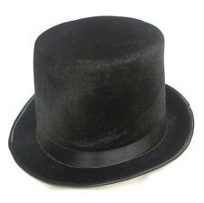 Mens Lincoln High Top Hat Indestructible Topper Burlesque Men's Gents New