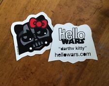 Star Wars Darth Vader Sticker Hello Kitty Decal Hellowars Family Stickers