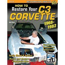 Come ripristinare il C3 CORVETTE 1968-1982 - sa248 LIBRO
