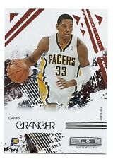 Danny Granger Rookie & Stars Card, Gold Holofoil, #34, Serial # 245 of 250