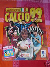 \ ALBUM FIGURINE CALCIATORI MERLIN'S 1999-OTTIMO  ///