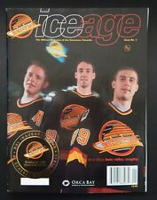 Canucks Ice Age Magazine 1st Official Inaugural Game Issue GM Place Pavel Bure