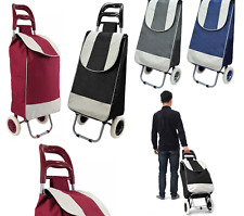 2 rotelle Heavy Duty Trolley Shopping Grocery PIC-NIC Carrello Pieghevole Storage Bag 35L