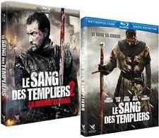Lot 2 Blu Ray  //  LE SANG DES TEMPLIERS 1 & 2  //  NEUFS cellophanés