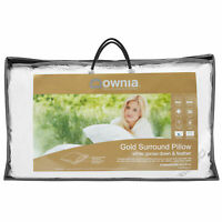 Downia Gold Goose Down & Feather Surround Pillow
