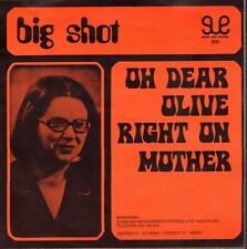 "BIG SHOT ‎–  Right On Mother (1972 VINYL SINGLE 7"" RARE COVER DAVID BOWIE SONG)"
