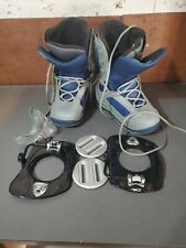 K2 Sector Snowboard Boots US Men's 9.5 with bindings