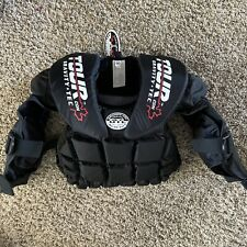 Tour Gravity Tec Goalie Hockey Pads Chest Arm Protection Lite Gear Usa Youth Nwt