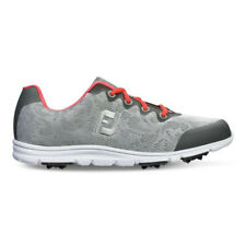 New Womens FootJoy enJoy Golf Shoes Grey Mist Size 7.5 M