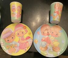 Precious Moments Cups And Plates Dish Set