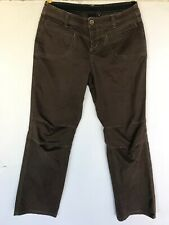 Kuhl Women's Size 12 Hiking Outdoor Pants Brown Regular Hike Camp Cotton Spandex