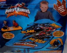 Power Ranger Dino Thunder Sleeping Bag or Slumberbag Playhut With Game Board New