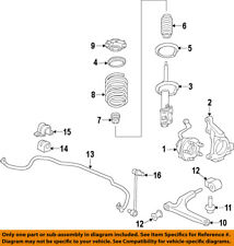 Chevrolet GM OEM 14-18 Impala Front Suspension-Coil Spring 22952901