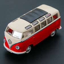 Vw Classical Bus 1962 Model Cars 1:24 Toys Sound&Light Alloy Diecast Collection
